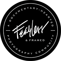 Fearless and Framed Contributor - Click to See My Work