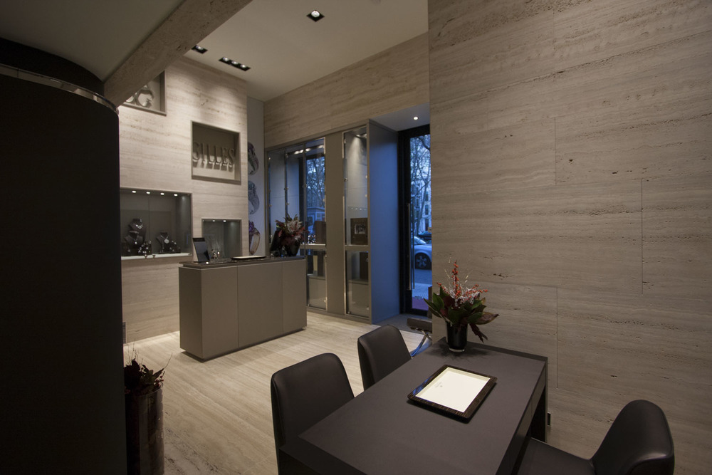 Customer service space - Retail Design of a Jewelry Shop, Avenida da Liberdade, Lisboa