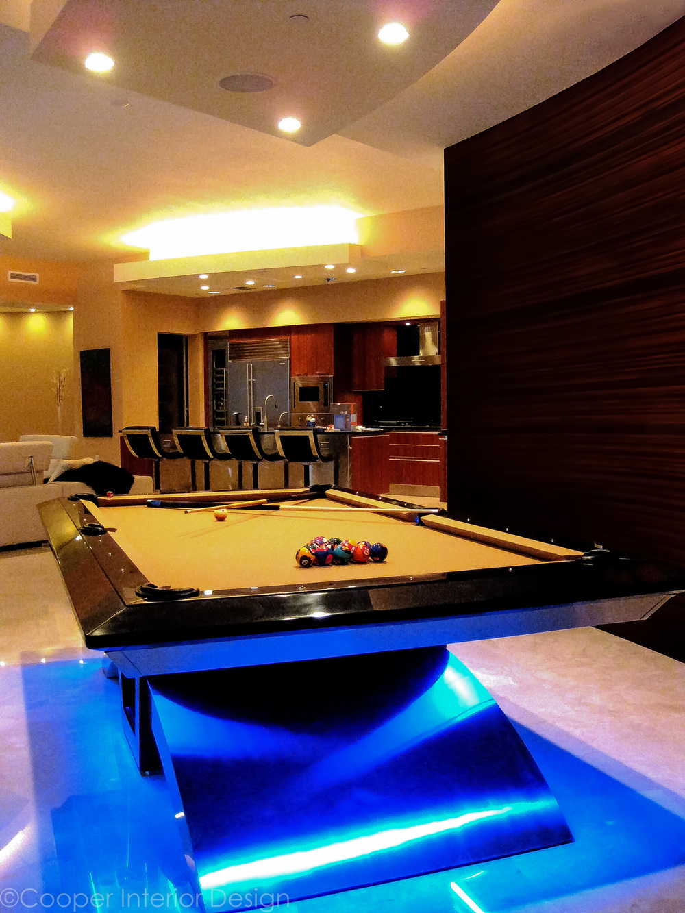 Custom Pool Table, Tampa, FL