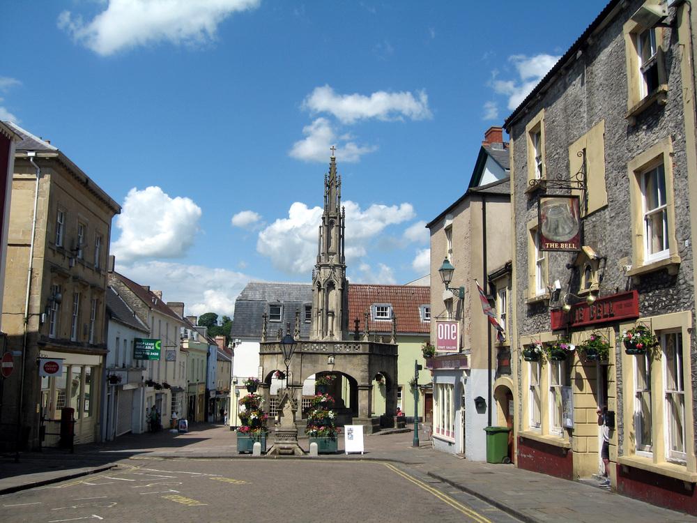 Shepton Mallet town centre