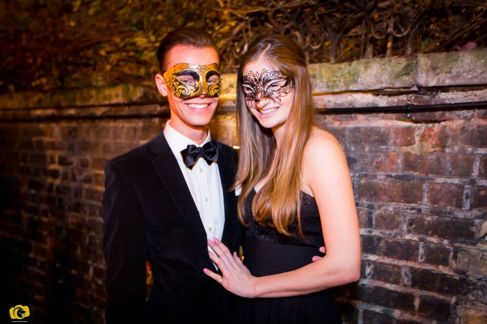 DI Events stage A Valentine's Masquerade Ball at Home House, image by Alexander Ivanov