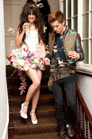Daisy Lowe and Chris Tove