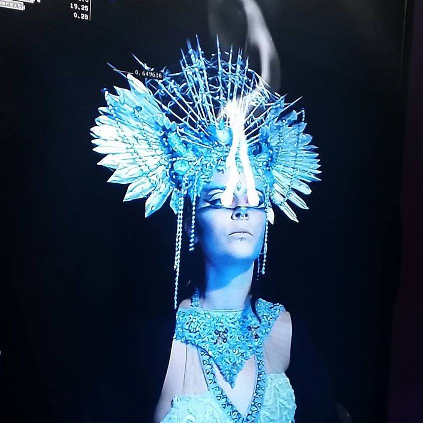 With thanks toKimatica Studio - The Jewelled Moon Theatre Company collaborated in experiential production design with Kimatica Studio to immersive actors and guests in digital kinetic light sculptures.