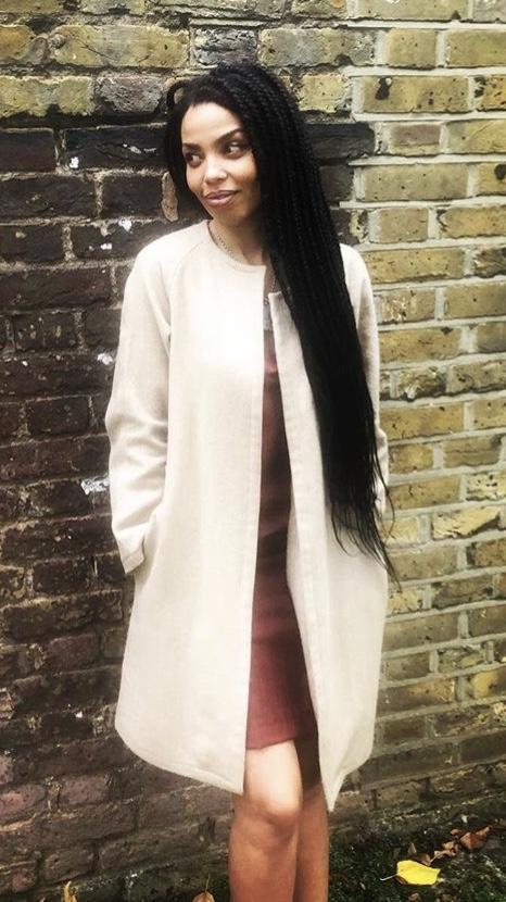 129b80e6aa2 BBC presenter Emma Dabiri models The Modern Muse collection