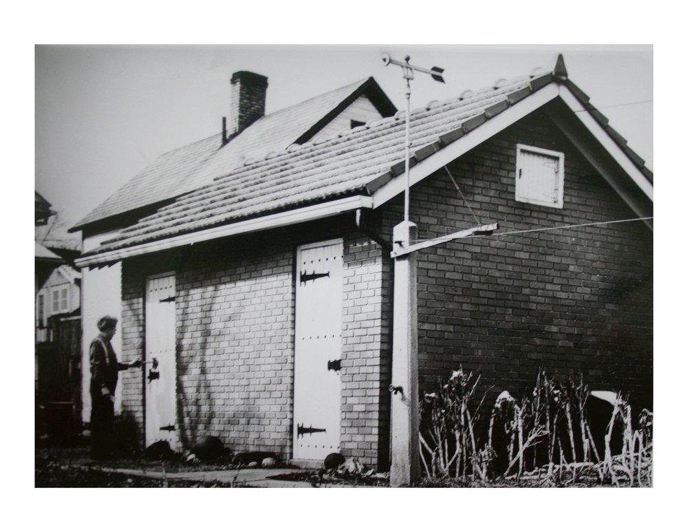 Mooney opening the 1936 museum.