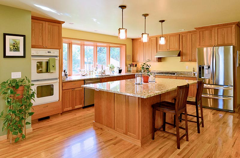 Kitchen Remodels - Most kitchens aren't designed with your needs in mind. Outdated appliances and a poor layout can make cooking a time consuming and frustrating affair. Wouldn't it be nice to walk in and feel like everything