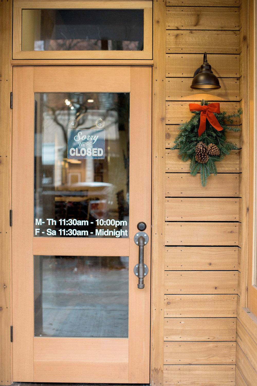 Restaurant Entryway