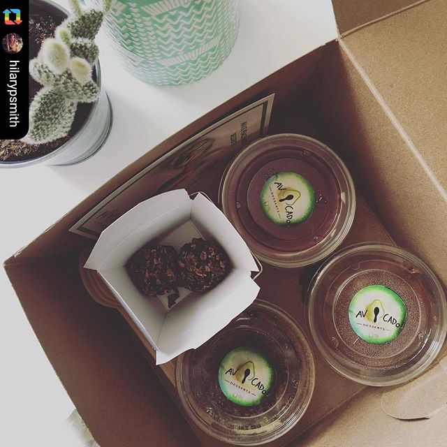 Repost from our last competition winners! 😍 🥑 🍫 Get a chance to win one today!  #startupweek @maisonnotman #chocolate #gift #avocadodesserts #avocado #dairyfree #healthy #entrepreneurlife