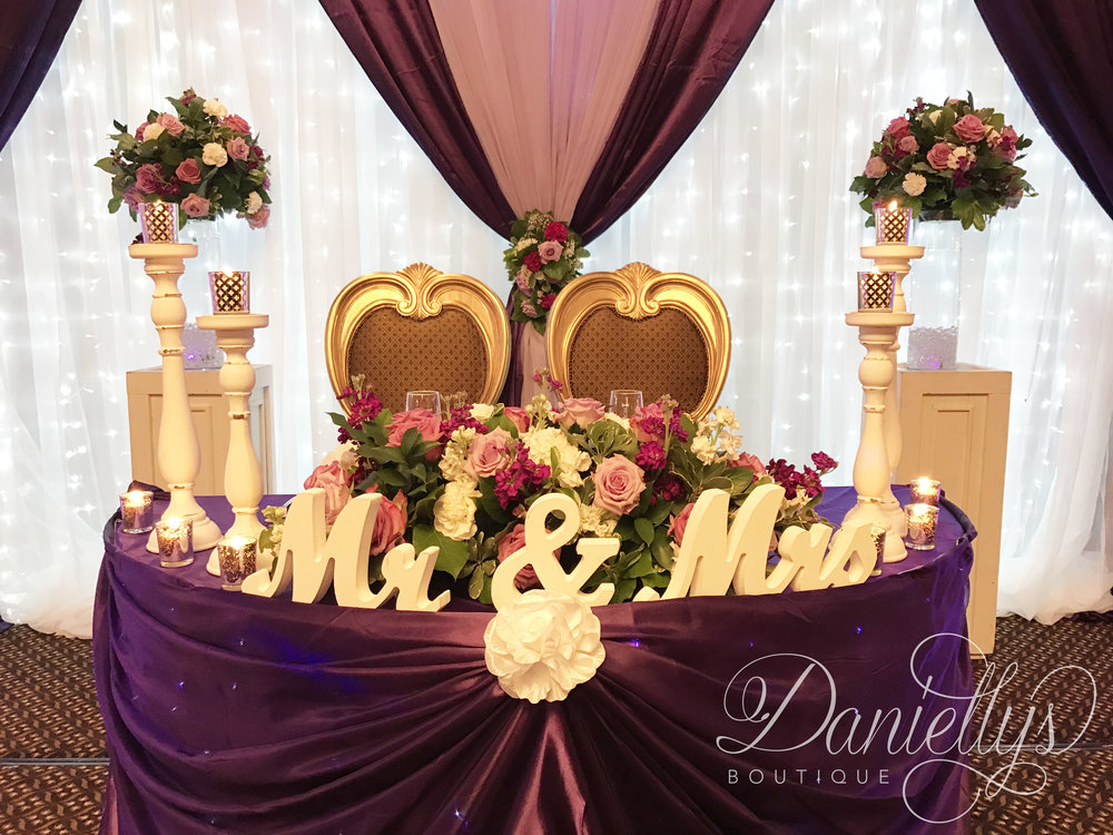 Purple & Lilac Wedding