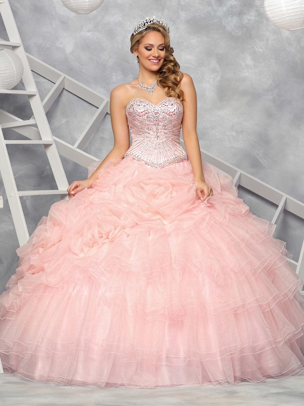 DaVinci Bridal A-line wedding gown style 50363