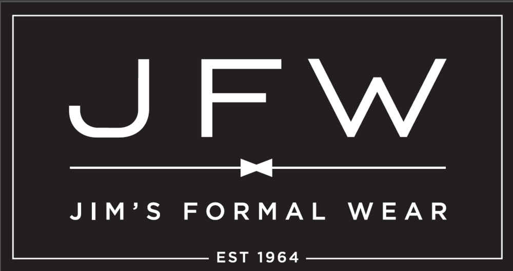 Jim's FOrmal Wear Logo