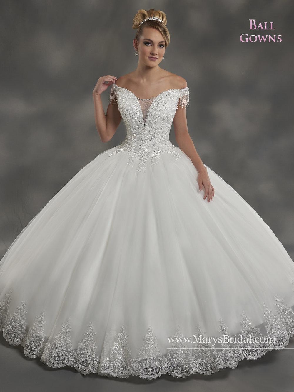 Mary's Bridal Style #2B834