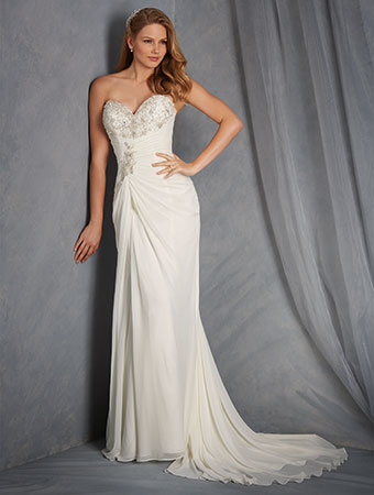 SALE! #2563 Alfred Angelo Bridal Gown — Danielly\'s Boutique