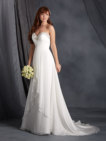 f339095cfe432 SALE! #2564 Alfred Angelo Bridal Gown — Danielly's Boutique