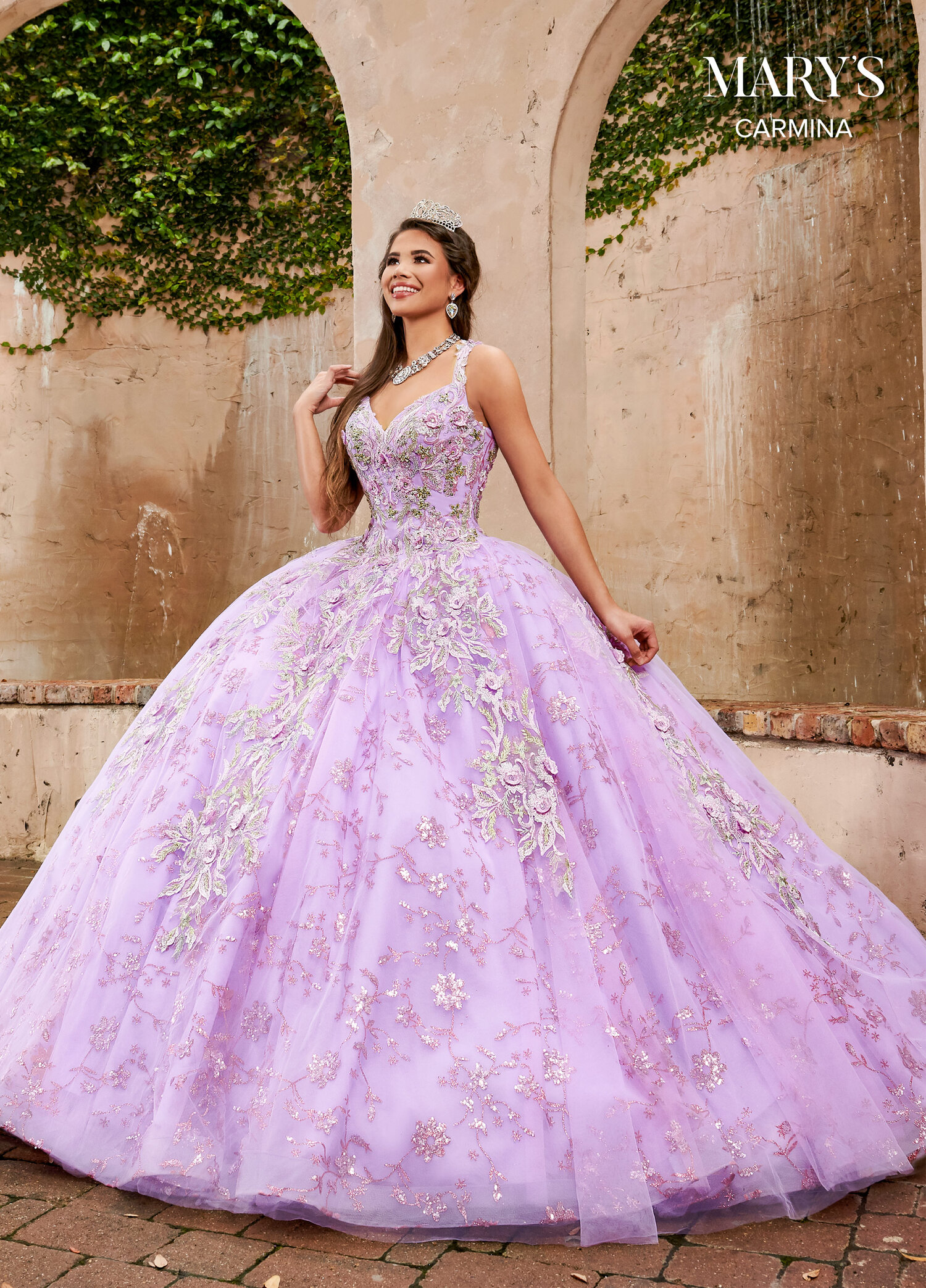 Quinceanera Dress from Mary's Bridal  MQ18 — Danielly's Boutique