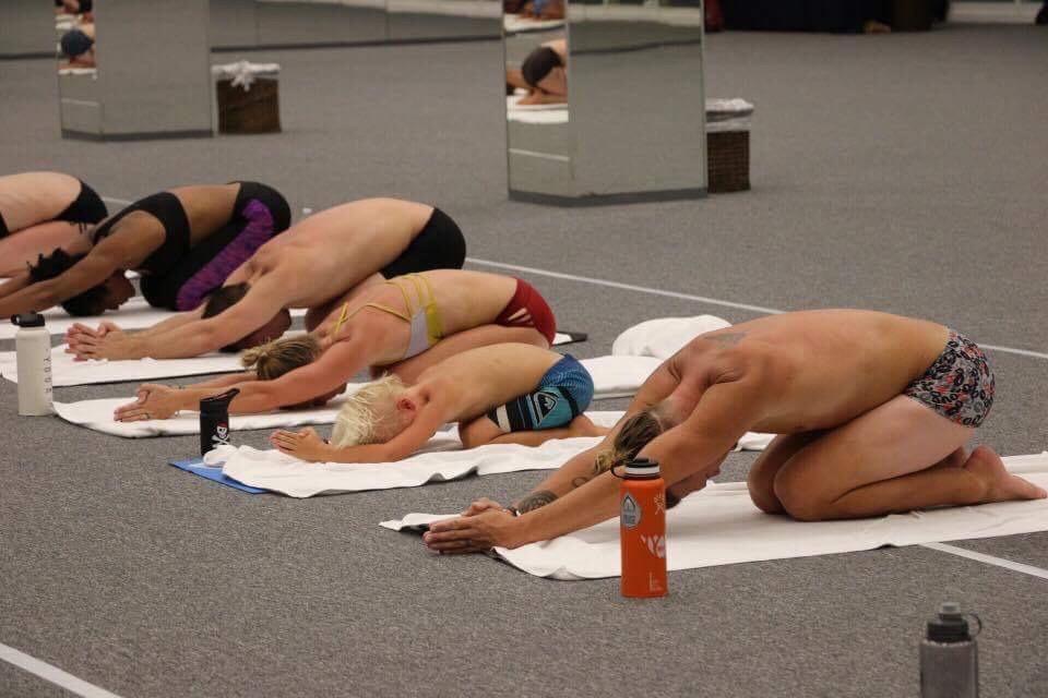 Bikram YogaTeacher Training in Acapulco.