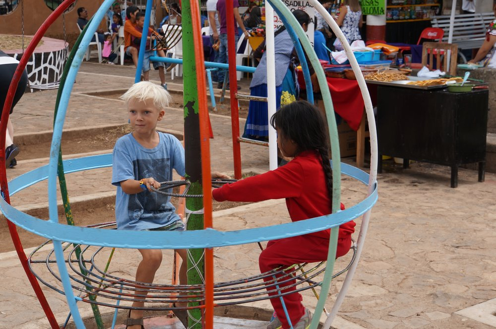 Playgrounds are happening places in Mexico!
