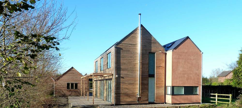 Larchwood dwelling modece architects suffolk bury st edmunds sustainable eco