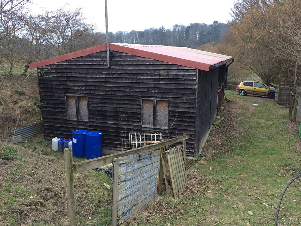 Brambles Barn off-grid house prior approval agricultural building to dwelling