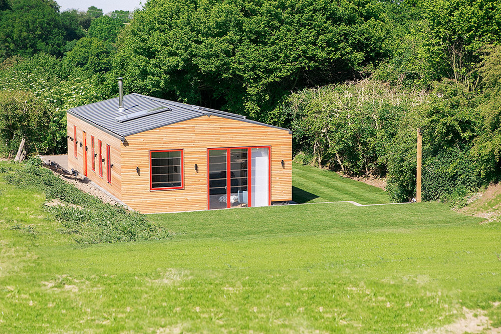 Off-grid architect designed eco dwelling in suffolk