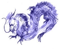 Blue Dragon - East, spring, wood, propriety.  Protector of Buddhism, supports and maintains the country.