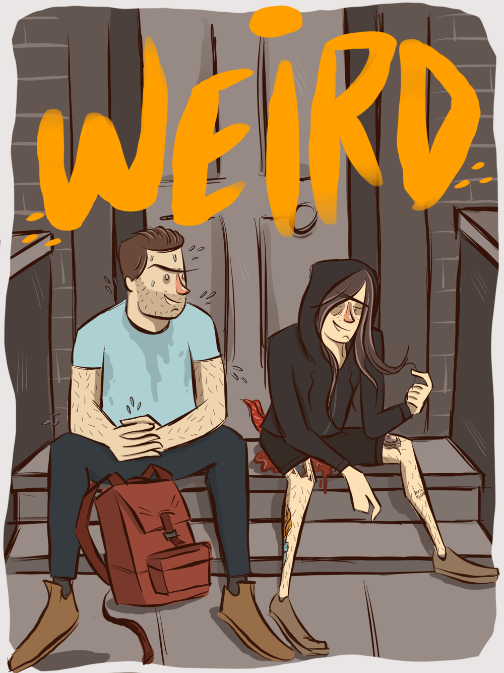 VOLUME ONE: coming soon. - Alyssa is a pint-sized toppy queer with a hanky to prove it.Scott is a ruggedly handsome white guy with a sweating problem.They're both awkward as hell and here to tell you all about it.