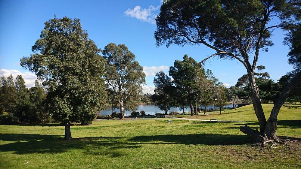 Edwardes Lake Park.