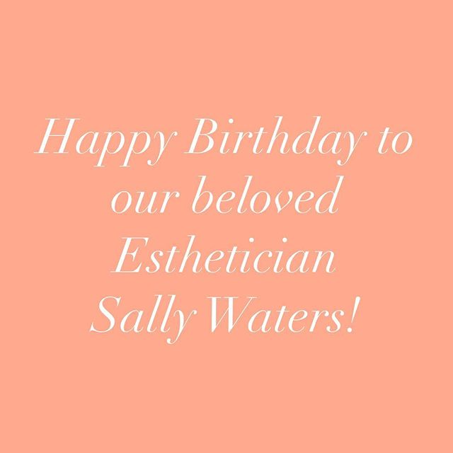 Happy Birthday to Sally! She brings so much love & care to all of her clients & each of us at the shop. We are so lucky to have her! She has one appointment left tomorrow for a facial, so book it while you can & experience her great work! 💗💗💗💗💗 . . . #cleanbeauty #holisticskincare #holisticesthetician #sfskincare #sfesthetician #spaday