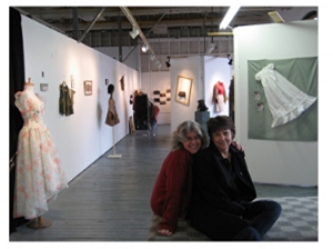 "Dane Gallery Show ""Threads That Bind"" sponsored by Valley Vogue Collections in 2010."