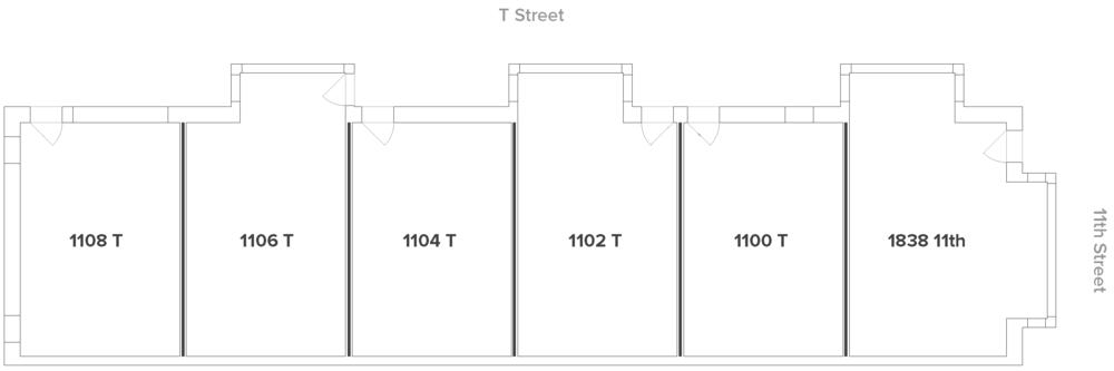 11 + T site plan
