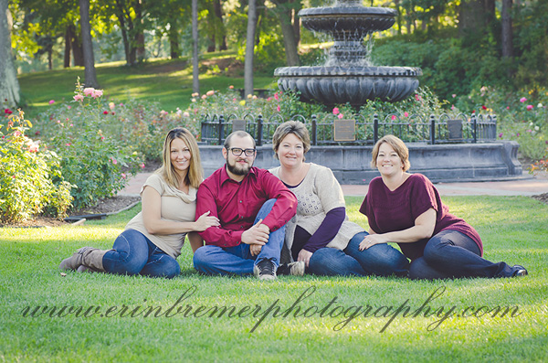 Upstate NY Family Photography at Schenectady Rose Garden