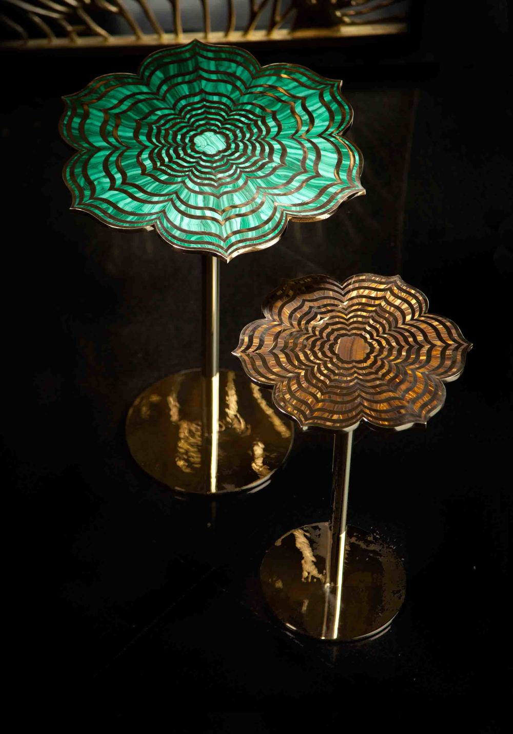 Floating Lotus Tables