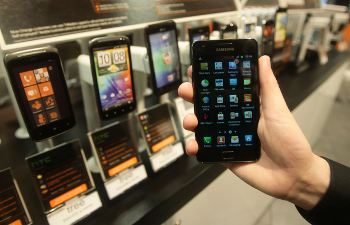 A smartphone shop
