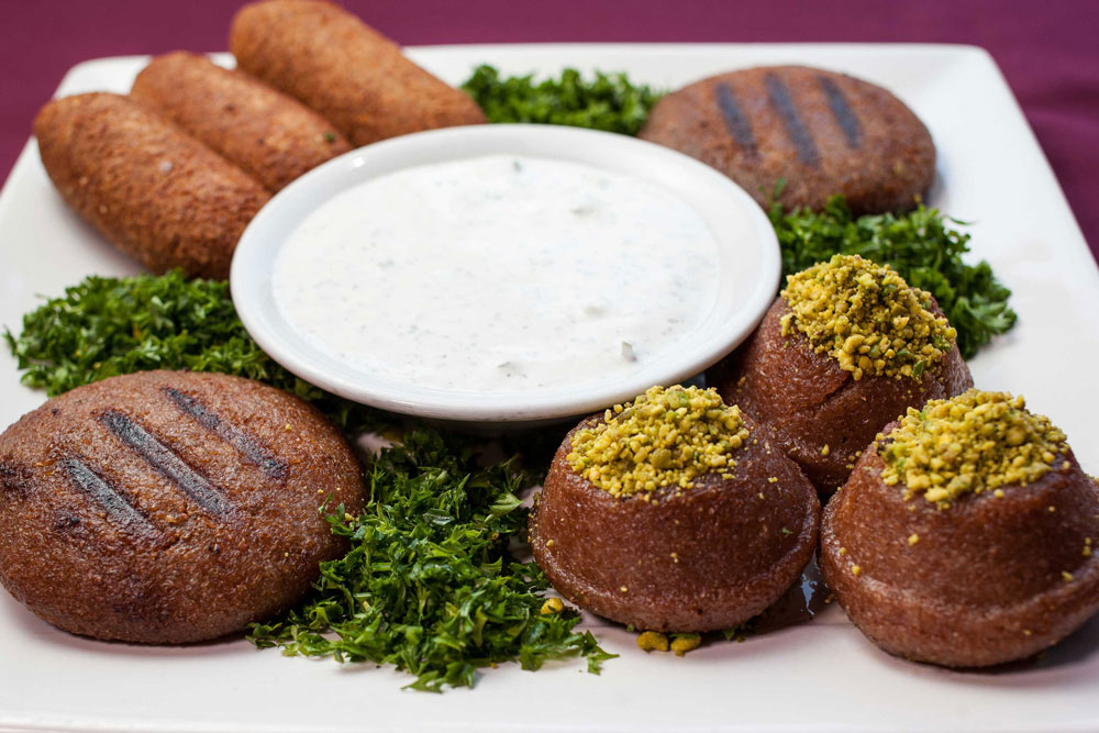 Mixed Kibbeh