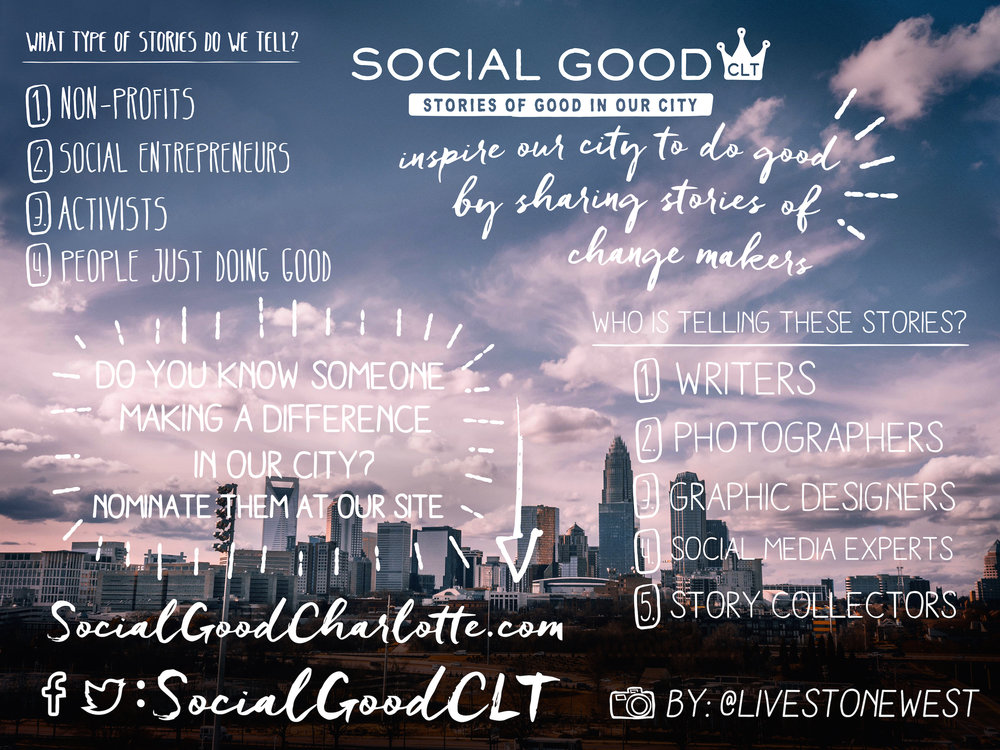 Story of Us — Social Good CLT