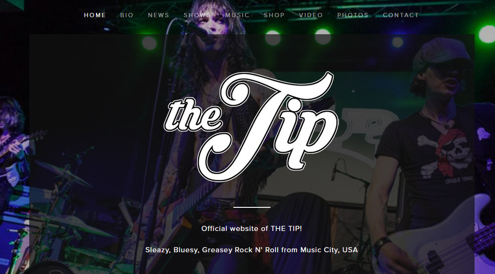 THE TIP  - BAND