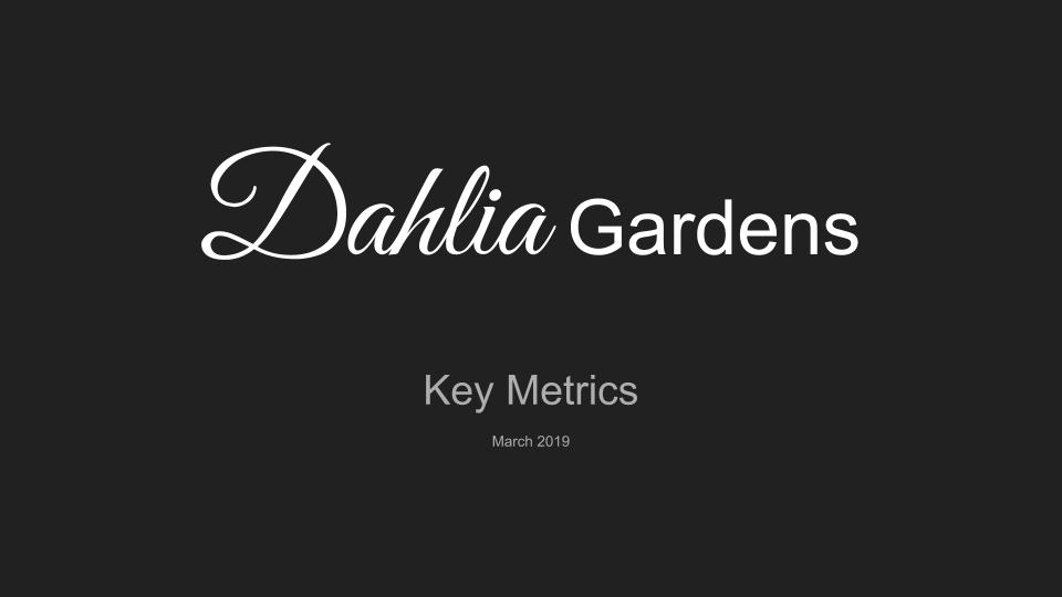 Dahlia Gardens Key Metrics March intro.png