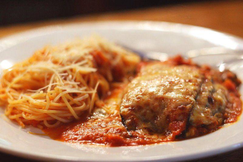Pollo alle Parmigiana
