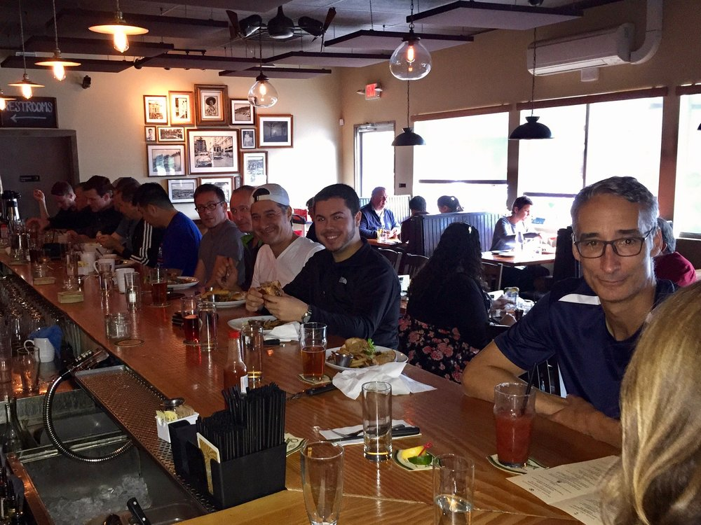 Lunch at Tabor Tavern 11/06/2016