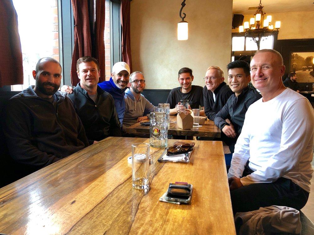 Lunch at Stammtisch 2018-01-14