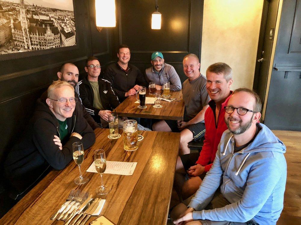 Lunch at Stammtisch 2018-01-07
