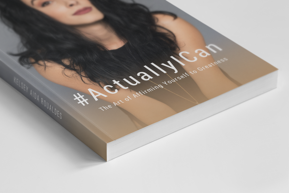 Love this inspirational book! #ActuallyICan: The Art of Affirming Yourself to Greatness