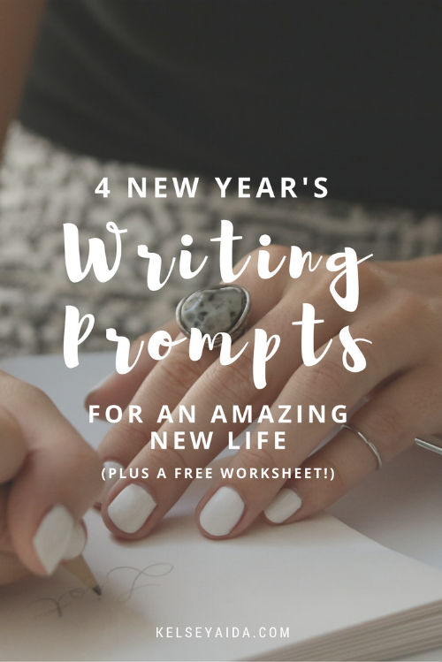 4 New Year's Writing Prompts for an Amazing New Life