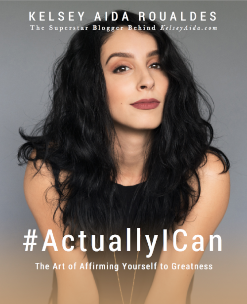 #ActuallyICan: The Art of Affirming Yourself to Greatness Cover