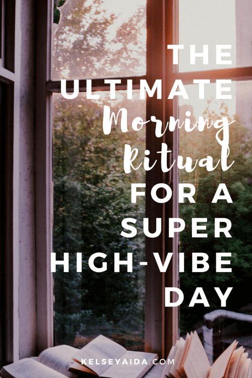 The Ultimate Morning Ritual for a High Vibe Day