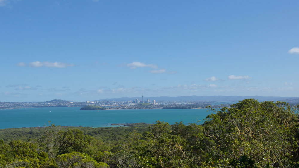 Auckland, seen from Rangitoto.