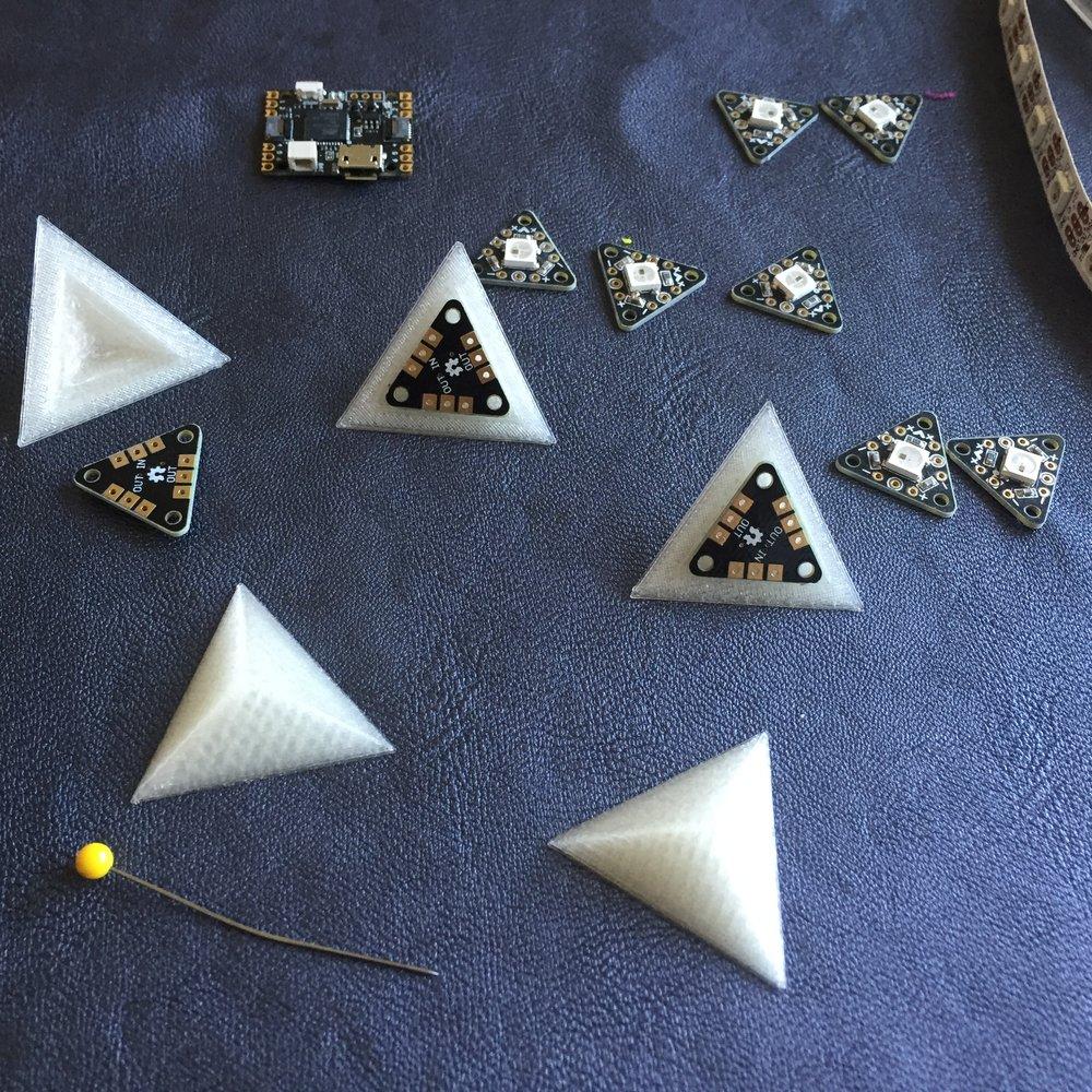 3D Printed LED Defusers