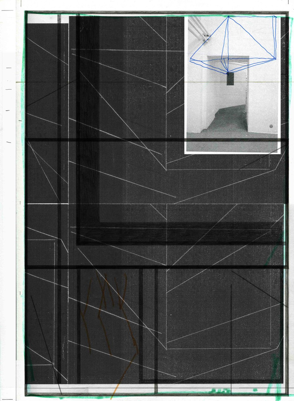 #1 Marc Nagtzaam, The Approach - 2017 - 39,6 x 29 cm Techniek: Riso, dubbelzijdig.