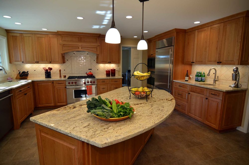 Kitchen Island Close Up kitchen — roloff construction