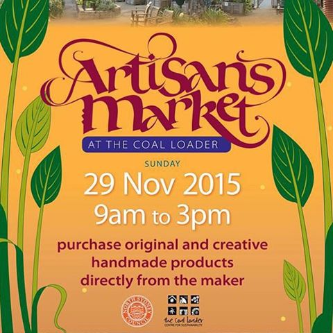 Don't forget, the Artisans Market is on tomorrow (Sun 29.11) from 9am! It's the last one for 2015. Do your Christmas shopping and treat yourself to lunch and a glass of wine at the Coal Loader Cafe.  #artisansmarket #waverton #coalloader #northsydney